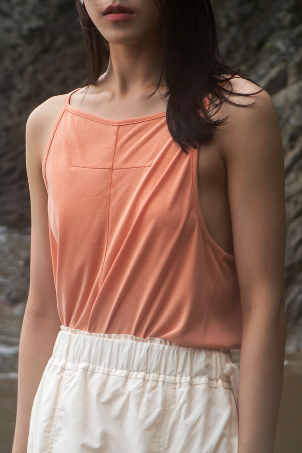 Dart Sleeveless Orange