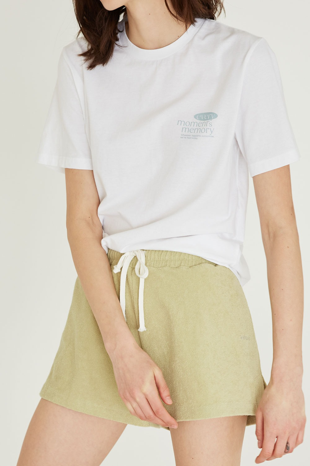 Terry Short Pants Olive